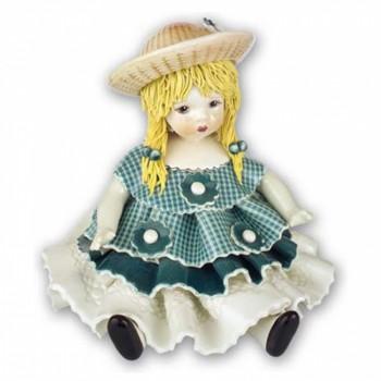 Статуэтка Девочка в голубом платье