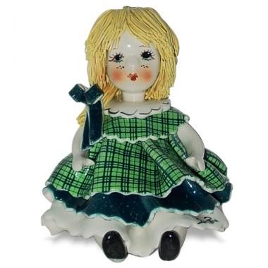 Статуэтка Девочка с бантиком