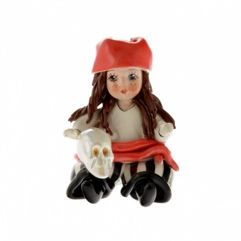 Статуэтка Девочка пират