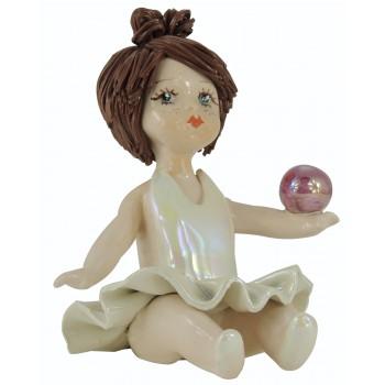 Статуэтка Гимнастка с мячом