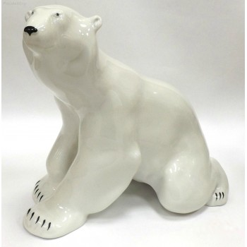 """Скульптура """"Медведь сидящий"""""""