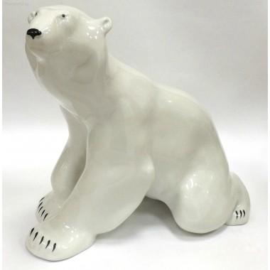 Скульптура Медведь сидящий