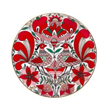 Декоративная тарелка Сказочная птица