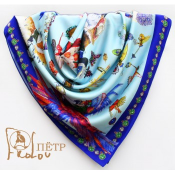 Шелковый платок Ювелир