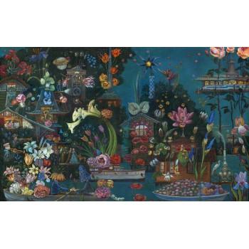 Картина Сны на цветочных дачах