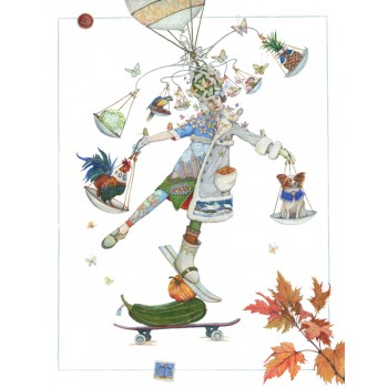 Картина Гороскоп. Весы