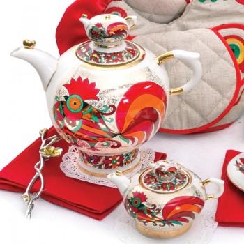 Комплект чайников Красный петух