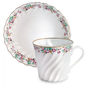 Чашка с блюдцем Весенняя