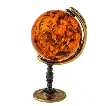 Сувенир Янтарный глобус