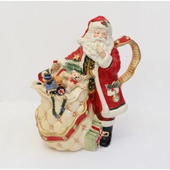 """Новогодний чайник """"Дед Мороз"""""""