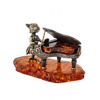 Сувенир Кот за роялем