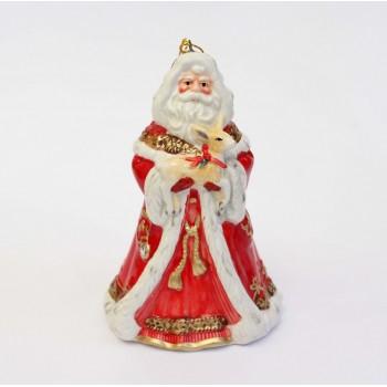 Новогодний колокольчик Дед Мороз