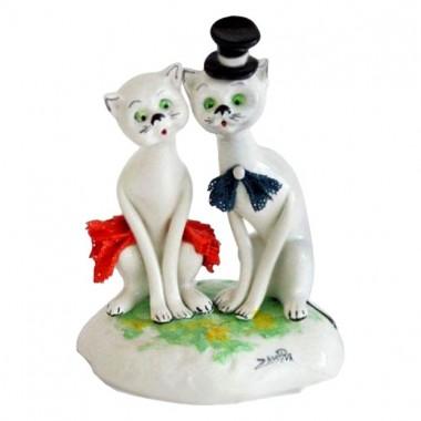 """Статуэтка """"Кот и кошка"""""""