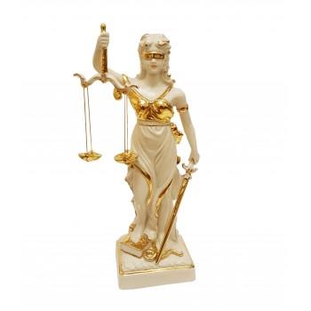 Скульптура Фемида - богиня правосудия
