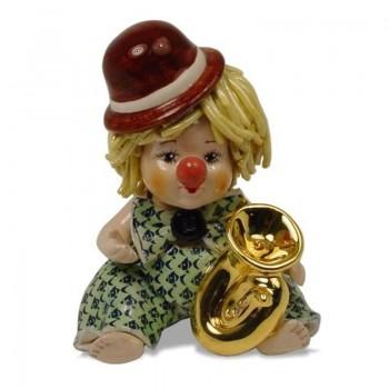 Статуэтка Клоун с трубой