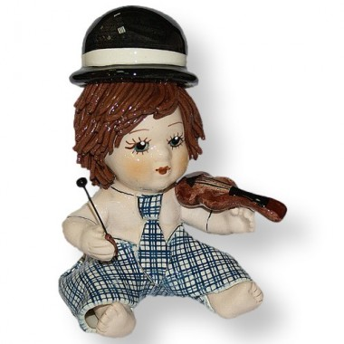 """Статуэтка """"Мальчик со скрипкой"""""""