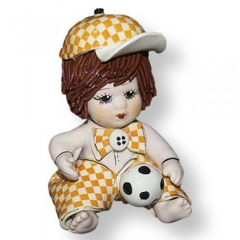 Статуэтка Мальчик с мячиком