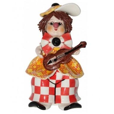 Статуэтка Клоун с гитарой