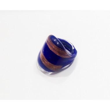 Кольцо из муранского стекла