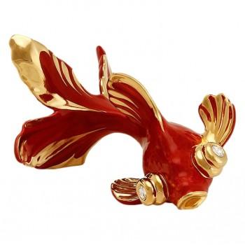 Статуэтка Золотая рыбка