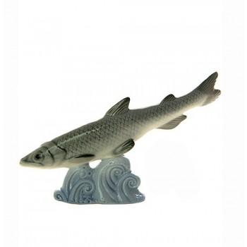 Скульптура Невская корюшка голубая волна
