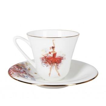 Чашка с блюдцем Фея Смелости