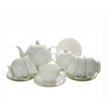 Чайный сервиз Золотая лента