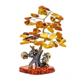 Сувенир Белочки под янтарным деревом