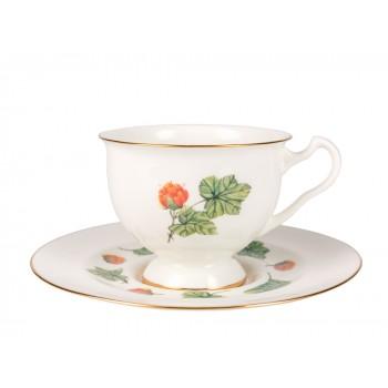 Чашка с блюдцем Морошка