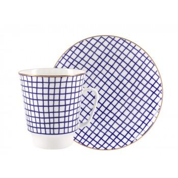 Чашка с блюдцем Tweed