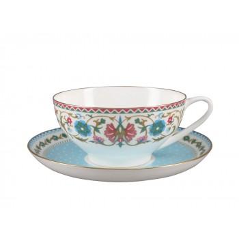Чашка с блюдцем Восточная вязь