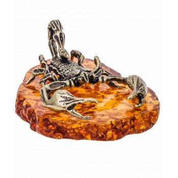 Сувенир Скорпион на подставке