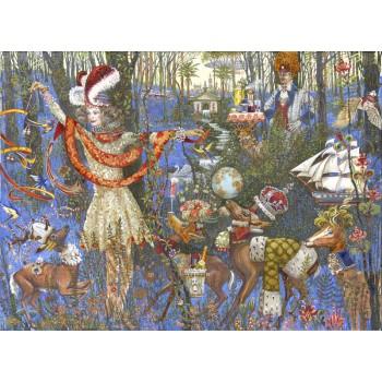 Картина Сказочный лес Бусаку