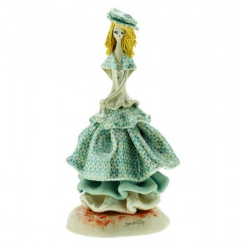 Статуэтка Леди в голубом