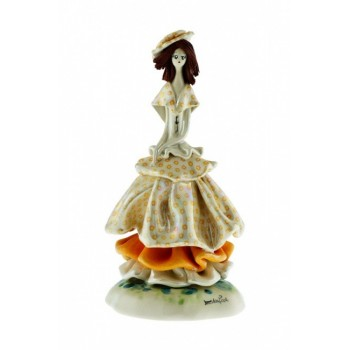 Статуэтка Леди в желтом
