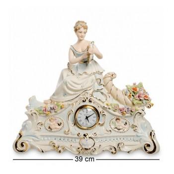 Настольные часы Дама с лирой