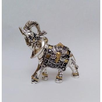 Статуэтка Слон в серебре