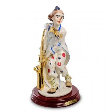Статуэтка Клоун с саксофоном
