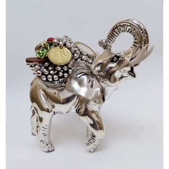 """Статуэтка """"Слон с корзиной изобилия"""""""