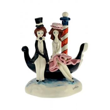 Статуэтка Влюбленная пара на гондоле