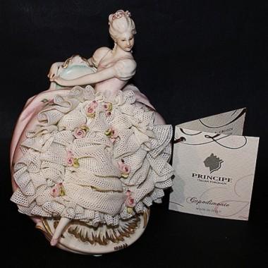 """Статуэтка """"Леди в розовом платье"""""""