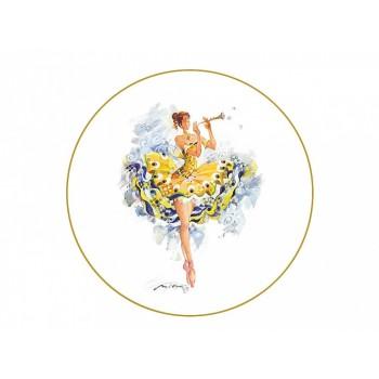 Декоративная тарелка Фея Беззаботности