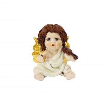 Статуэтка Купидон со скрипкой