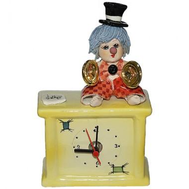 Часы с клоуном