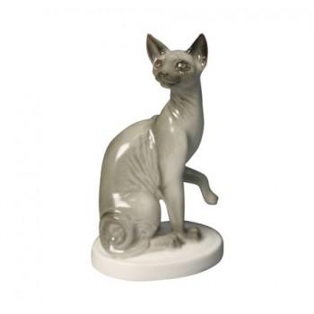 Скульптура Кошка-сфинкс