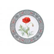 Декоративная тарелка Мак восточный