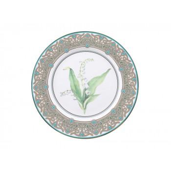 Декоративная тарелка Ландыш майский