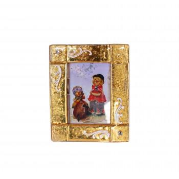 Фоторамка из муранского стекла