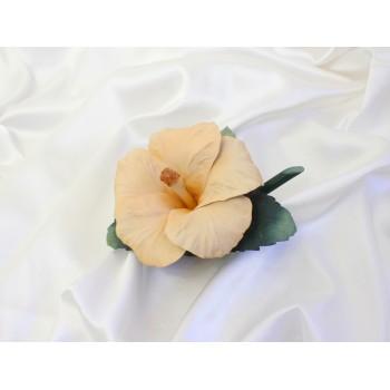 Фарфоровый цветок Гибискус