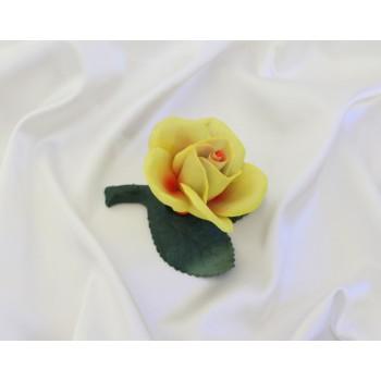 Фарфоровый цветок Розочка